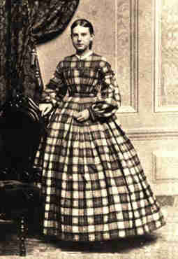 Young Woman in Plaid